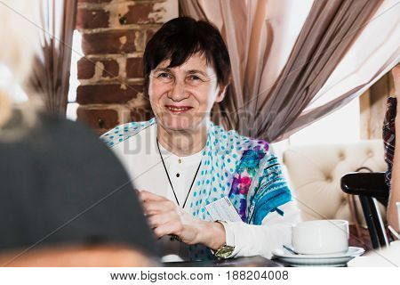 Woman Takes Part In The Festival Time For Play Which Includes Pl