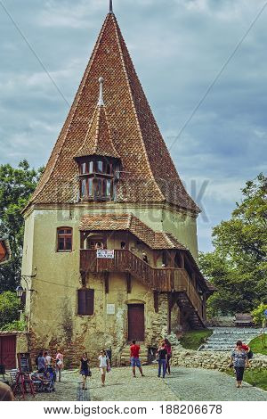 Shoemakers' Tower, Sighisoara, Romania