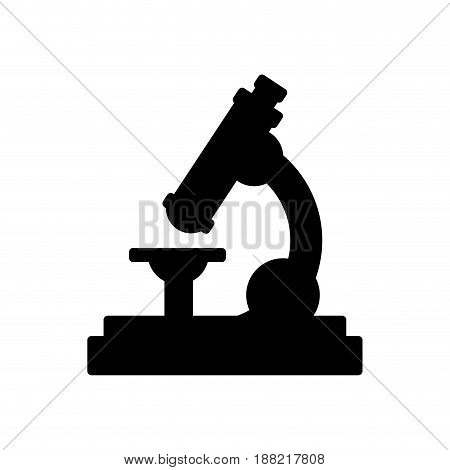 school microscope science biology icon vector illustration