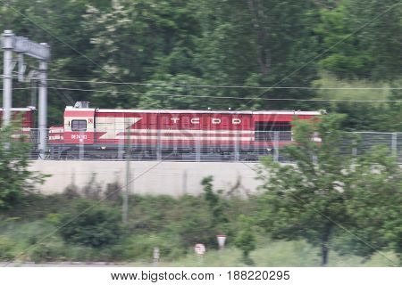Turkish State Railways Train Locomotive