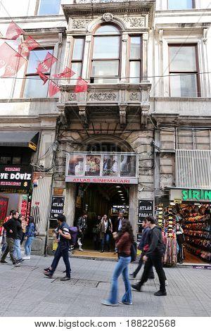 Atlas Bazaar In Istanbul
