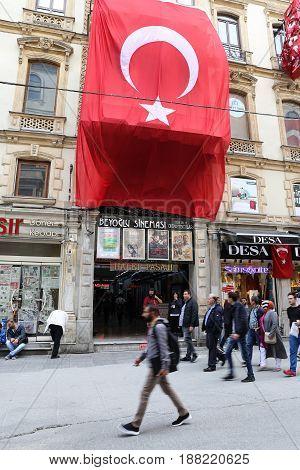 Halep Bazaar In Istanbul