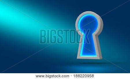 Sign Keyhole