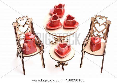 Heart Shaped Kitchenware Set
