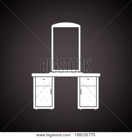 Dresser With Mirror Icon