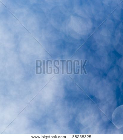 abstract background a blue bokeh . A photo