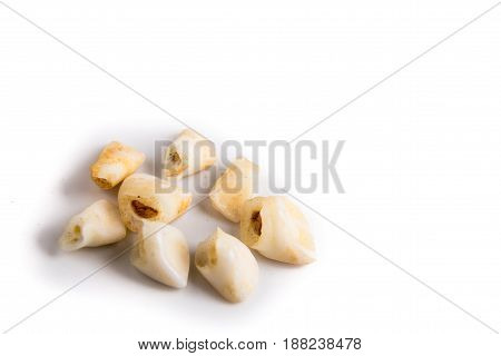 Collection Of Extracted Milk Teeth