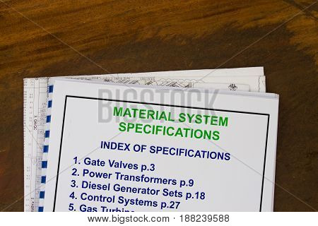 Material System Specifications