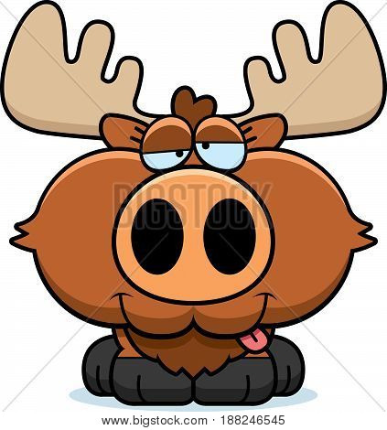 Cartoon Goofy Moose