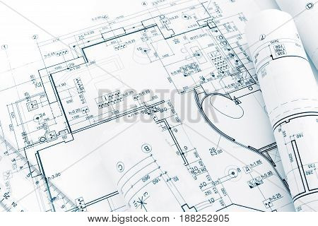 Engineering Drawings Blueprints And House Plan Blueprints Rolls
