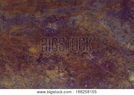 Rusty metal texture. Rusty metal background. Grunge retro vintage of rusty metal plate for design with copy space for text.