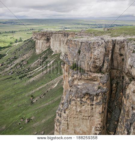 White Rock Ak-kaya In Crimea