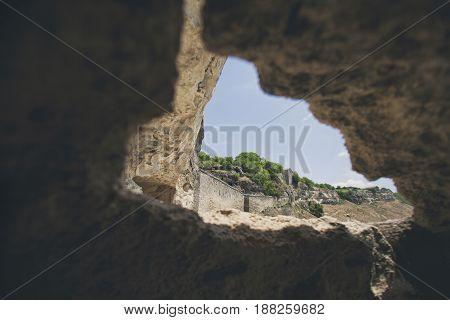 Fortress Calais In Crimea, Cave City.