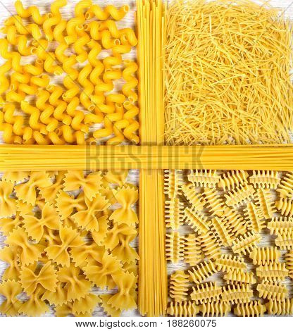 Food Theme, Pasta Background.