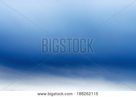 White blue sky background texture. Russia. Leningrad region