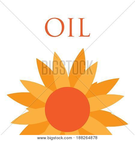 Natural organic best quality sunflower oil label