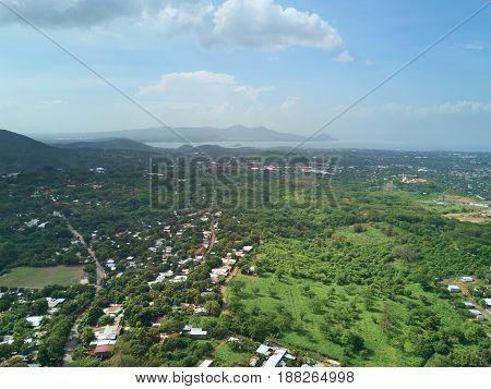 Green Nature Landscape In Managua City