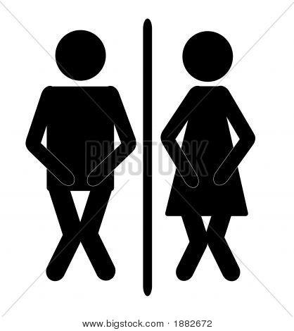 Bathroom Sign2