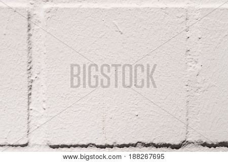 close-up of a white painted brick wall, seen in cologne, germany