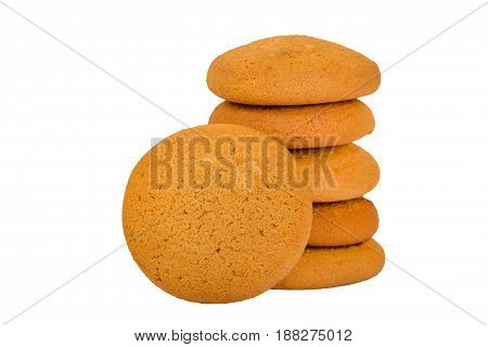 Oatmeal Cookies Isolated
