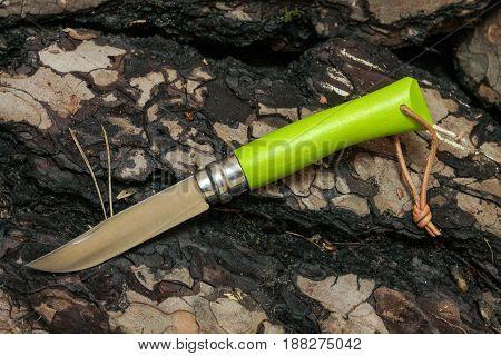 Farmer's Knife For Harvesting In The Field.
