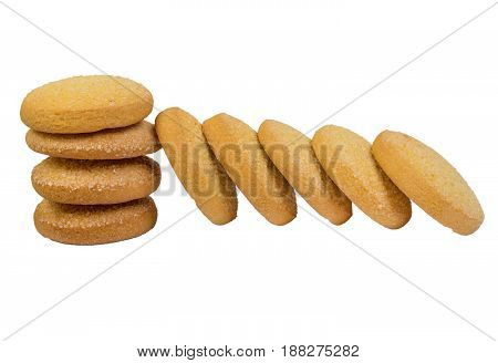 Corn Cookies Isolated
