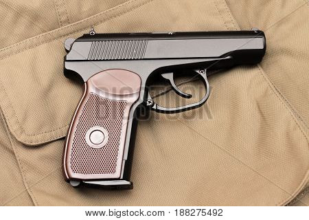 The Makarov Pistol. A Reliable Weapon. A Classic Pistol.