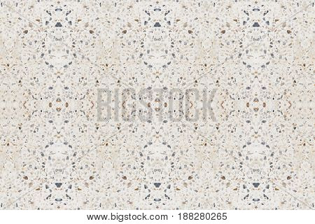 terrazzo floor or marble. beautiful old texture polished stone wall for background
