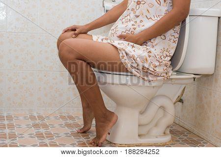Constipation in pregnant women , pregnancy women