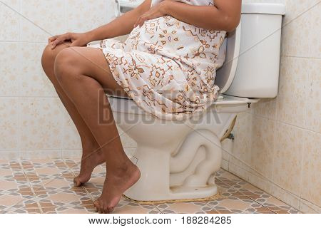 Constipation in pregnant women , pregnancy women