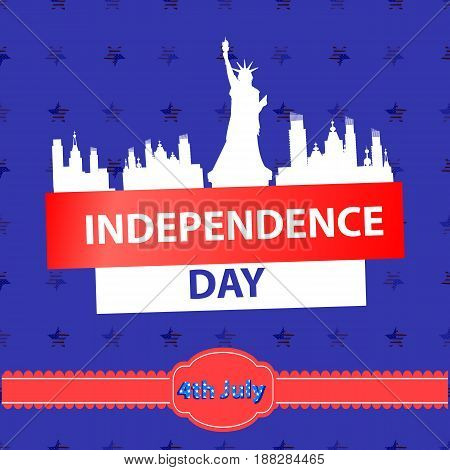 Independence Day Usa, Vector. Illustration Design.