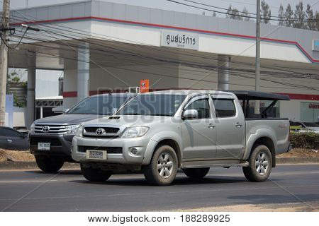 Private Pickup Truck Car Toyota Hilux Vigo.