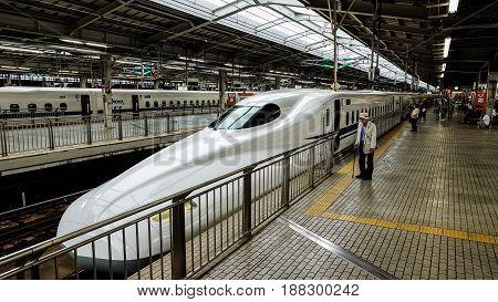 Osaka, Japan -  6 May 2017 - Shin Osaka Station In Osaka Of Japan.