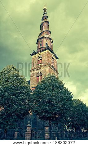 Church Of Our Saviour In Copenhagen