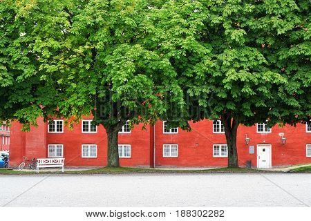 The Storehouse In Kastellet, Copenhagen.