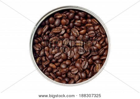 Coffee Beans In The Form Of A Circle