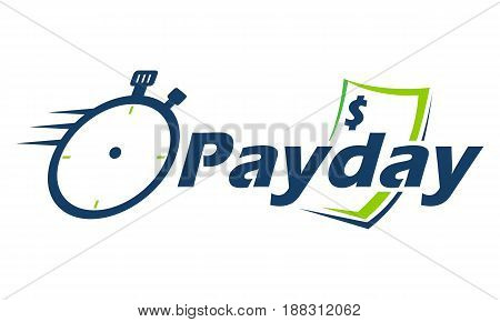 This image describe about Payday Logo Emblem