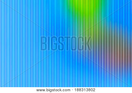 Blue Green Red Abstract With Light Lines Blurred Background