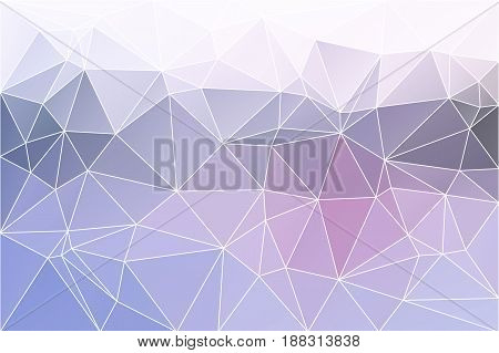 Pink Grey Geometric Background With Mesh.
