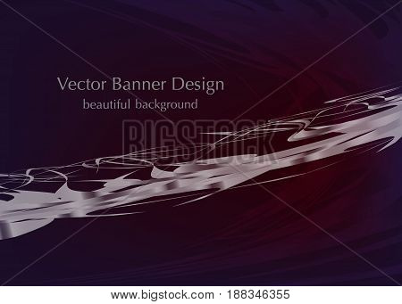 gray lines on the dark background, made in vector