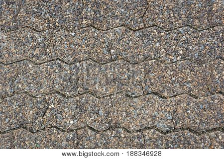 Road Brick worm, Block Worm, Texture background