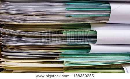 roles accumulated in the office and background