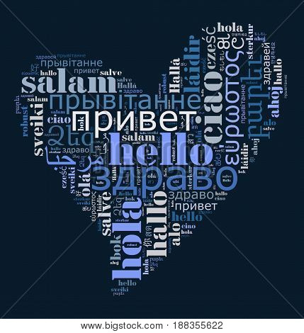 Word Hello In Different Languages