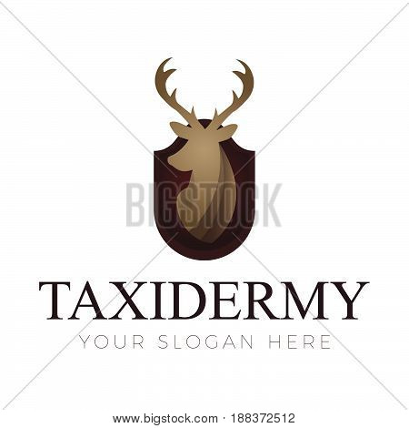 Taxidermy Logo. Logo template for your business