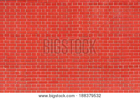 Background of red brick wall texture. Background of red brick wall texture