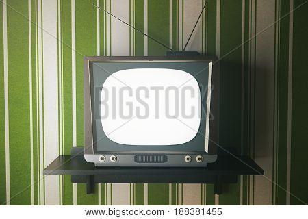 Obsolete Tv Front