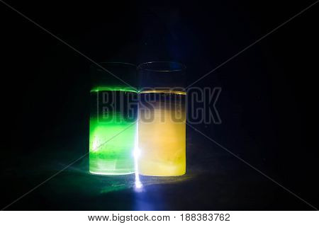 Bright Yellow Green Cocktail Garnished With Lime. Classic Alcohol Cocktails, Alcoholic Drinks, Soft