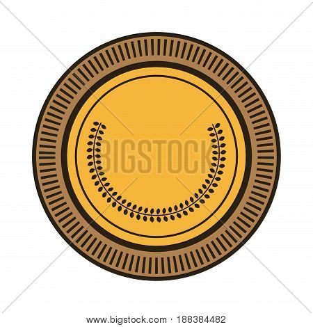 cartoon money coin currency cash icon vector illustration