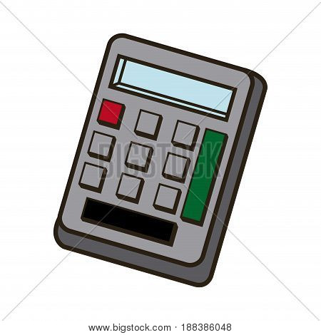 calculator savings, finances economy concept icon vector illustration