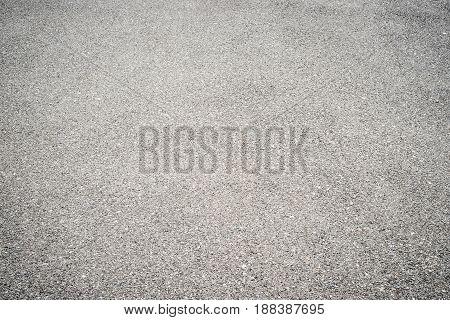 Background gray asphalt texture on the whole frame